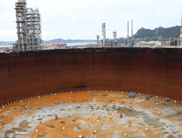 Maintaining NZ's Largest Crude Storage Tank