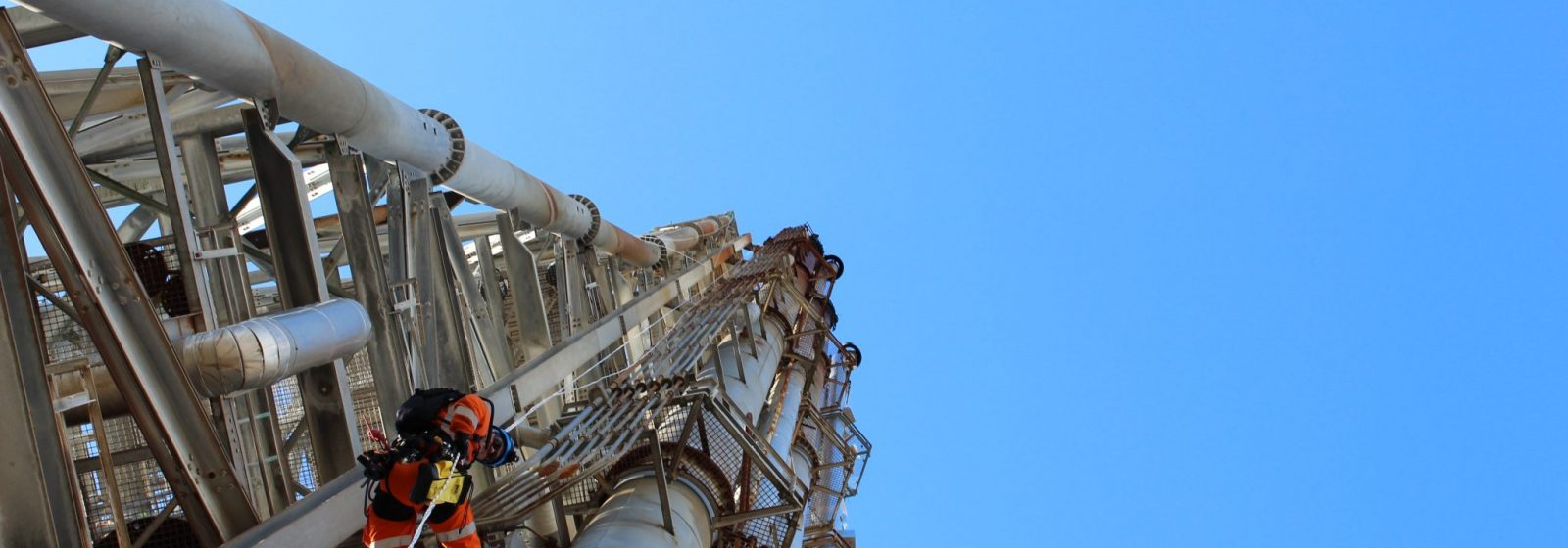 Refinery Flare Structure Maintenance and Repairs - Header Image