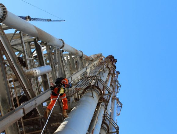 Refinery Flare Structure Maintenance and Repairs