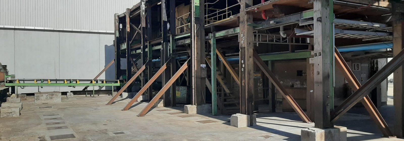 Bin Sorter Building Temporary Works Design - Header Image