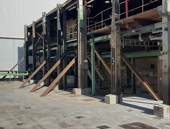 Bin Sorter Building Temporary Works Design