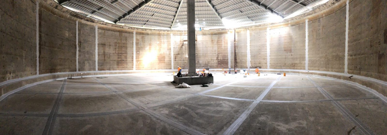Kowhai Water Reservoir Roof Replacement - Header Image