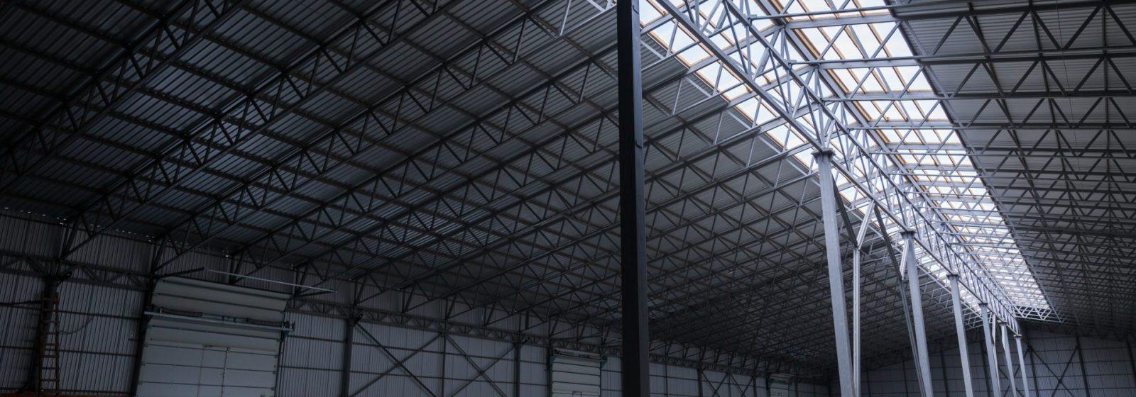 Industrial Warehouse Construction Monitoring - Header Image