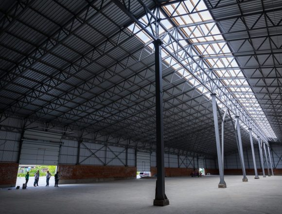 Industrial Warehouse Construction Monitoring