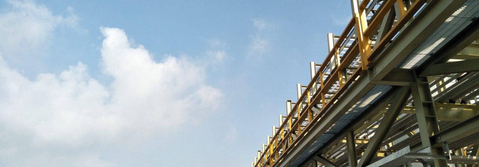 Industrial Pipe Rack Engineering Assessment - Header Image