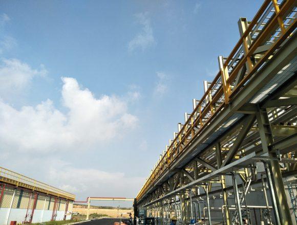 Industrial Pipe Rack Engineering Assessment